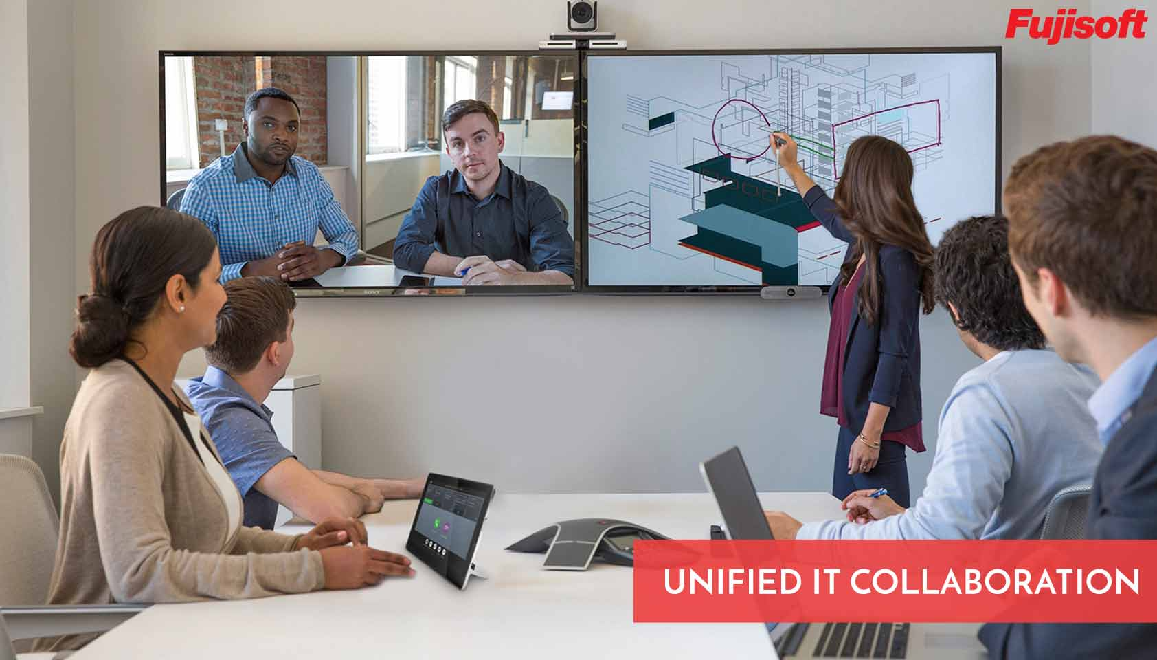 IT video conferencing solution Dubai
